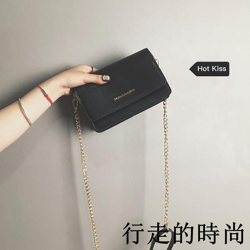 re wild single shoulder small square bag chain Messenger bag