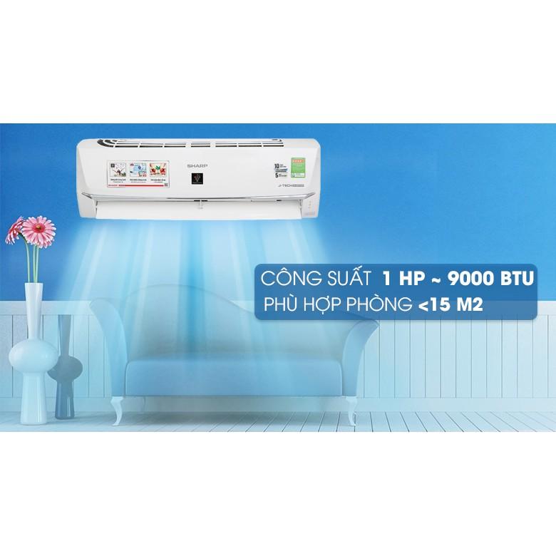 Máy lạnh Sharp Wifi Inverter 1 HP AH-XP10WHW (Miễn phí giao tại HCM-ngoài tỉnh liên hệ shop)