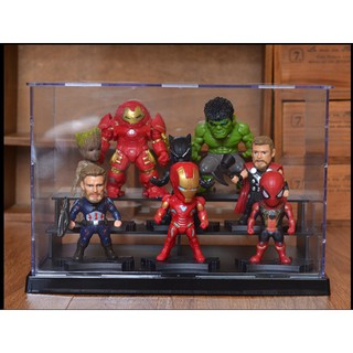 Bộ mô hình đồ chơi các nhân vật siêu anh hùng