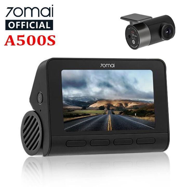 Camera hành trình ô tô cao cấp thương hiệu Xiaomi 70mai, bản chuẩn Quốc Tế A500S