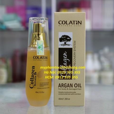 Tinh dầu dưỡng tóc Argan Colatin 40ml - 2485321 , 316339082 , 322_316339082 , 190000 , Tinh-dau-duong-toc-Argan-Colatin-40ml-322_316339082 , shopee.vn , Tinh dầu dưỡng tóc Argan Colatin 40ml