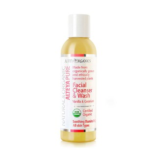 Sữa Rửa Mặt Trái Vani & Cây Phong Lữ Hữu Cơ Alteya Organics Facial Cleanser & Wash, Vanilla & Geranium, 150ml thumbnail