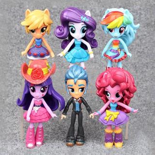 Bộ 6 mô hình nhân vật hoạt hình My Little Pony