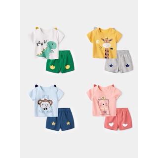 Đồ bộ bé trai, bé gái, Bộ cộc tay cho bé chất thun lạnh mềm mại Mickey Mom, Bộ quần áo trẻ em dễ thương mặc mùa hè
