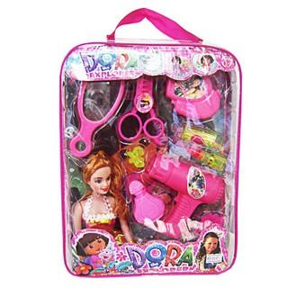 [HOT] Đồ chơi đồ dùng cá nhân bằng nhựa có búp bê dễ thương cho bé gái