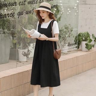 Váy bầu Đen Giả Yếm thumbnail