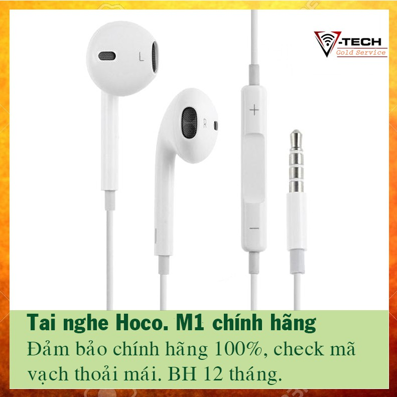 Tai nghe nhét tai Hoco. M1 chính hãng, bảo hành 12 tháng - 2941557 , 1167162515 , 322_1167162515 , 99000 , Tai-nghe-nhet-tai-Hoco.-M1-chinh-hang-bao-hanh-12-thang-322_1167162515 , shopee.vn , Tai nghe nhét tai Hoco. M1 chính hãng, bảo hành 12 tháng