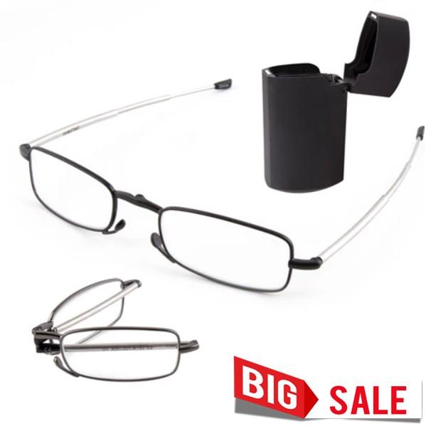 แว่นสายตายาวพับได้ รุ่นใหม่ขาแว่นสามารถ ยืดหดได้ สำหรับสายตายาว +100 - +300 ราคาถูกที่สุด