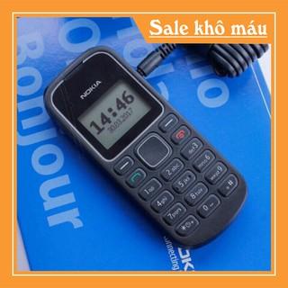 [ Rẻ Vô Địch ] điện thoại nokia 1280 mới 100% điện thoại đen trắng huyền thoại nghe gọi tốt sóng khỏa pin ngon
