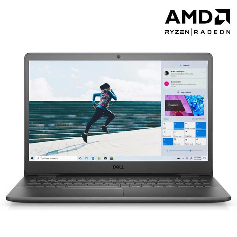 Laptop Dell Inspiron 15 3505 (Y1N1T1)/ Black/ AMD Ryzen R3-3250U/RAM 8GB/256GB SSD/15.6 inch FHD/3 Cell/ Win 10SL/1 Yr