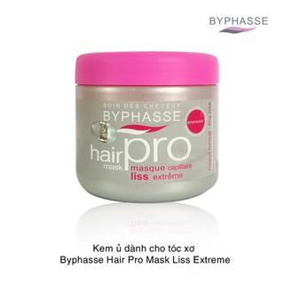 Kem Ủ Byphasse Cho Tóc Xơ Rối 500ml Hair Pro Hair Mask Liss Extrême Rebellious Hair