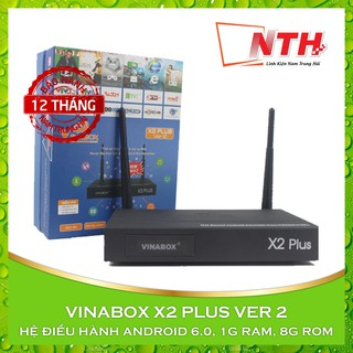 [Mã 229ELSALE hoàn 7% đơn 300K] ANDROID VINABOX X2 PLUS VER 2 BIẾN TIVI THƯỜNG THÀNH SMART TIVI