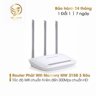 Bộ Thiết Bị Phát Wifi Mercury MW 315R 3 Anten Cục Phát Sóng Wifi Tốc Độ Cao Ổn Định - OHNO VIỆT NAM thumbnail