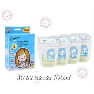 Hộp 50 Túi trữ sữa Sunmum Thái Lan