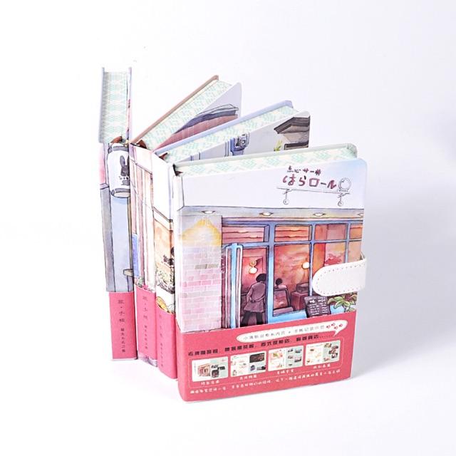 sổ ghi chép hình cửa hàng Nhật Bản siêu xinh ,sổ tay sổ ghi chú