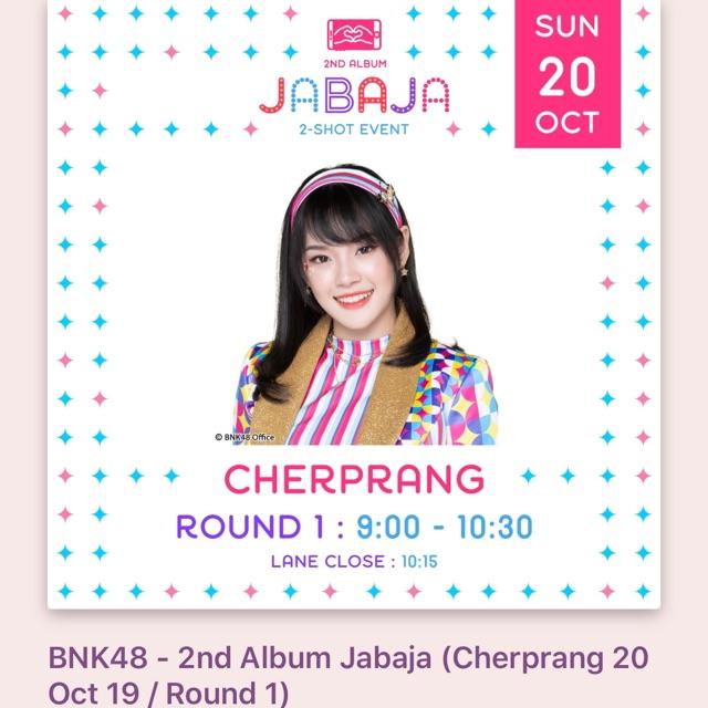 2shot Cherprang Round1 20 Oct 2019