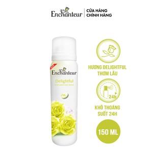Xịt khử mùi nước hoa Enchanteur Delightful ngăn mồ hôi & mùi cơ thể 150ml