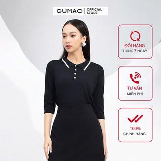 Áo len nữ cổ đức tay lỡ GUMAC đủ màu, đủ size AA9226 thumbnail