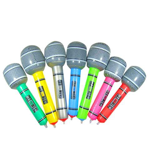 12pcs Inflatable Microphone for Children