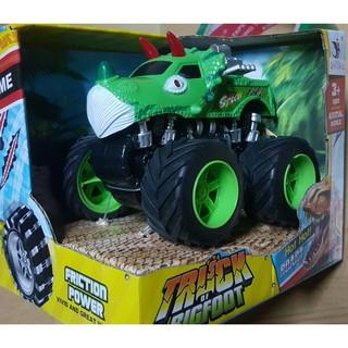 Đồ chơi xe chạy trớn khủng long xanh