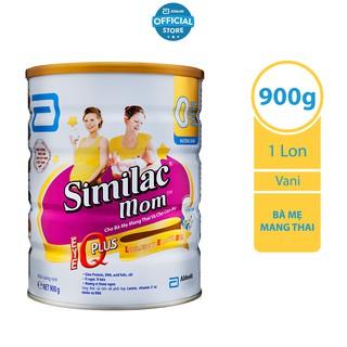[Mã MKBMALL12 giảm 5% đơn 250K] Sữa bột Similac Mom IQ 900g hương vani thumbnail