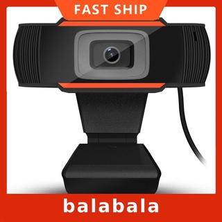 Webcam A870 Hd Usb Có Thể Xoay Kèm Micro Tiện Dụng Cho Máy Tính Pc