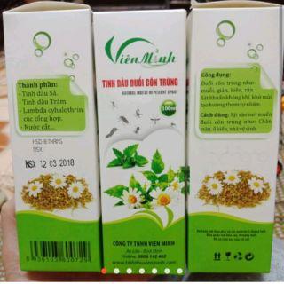 Tinh dầu đuổi côn trùng Viên Minh