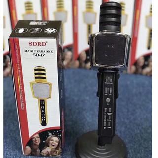 Micro karaoke bluetooth SDRD SD17 chính hãng cực hay thumbnail