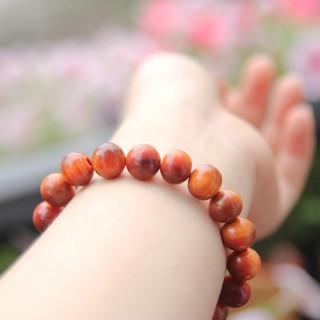 Vòng tay nữ gỗ Huyết Long thấu quang 8ly thơm nức FREESHIP đơn 50k [BH652-8] HAHANCO thumbnail