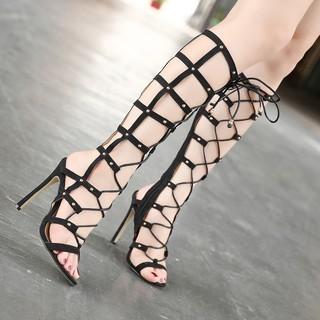 Sandal cổ cao đan dây sành điệu GCC140