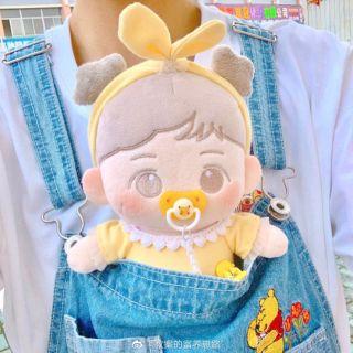 [có sẵn – tặng kèm outfit] doll EXO BaekHyun Akyuni 20cm (búp bê)