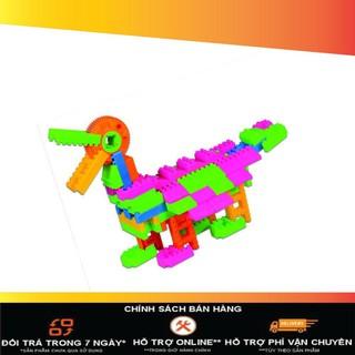 [ Nhập XELUC giảm thêm 50K nhé ] Đồ chơi xếp hình trẻ em Nhựa Chợ Lớn 02 – M968-LR (Ảnh thật)