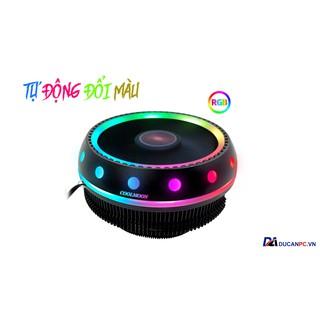 Quạt Tản Nhiệt, Fan CPU Coolmoon UFO X Led RGB - Tự Động Đổi Màu Và Hiệu Ứng thumbnail