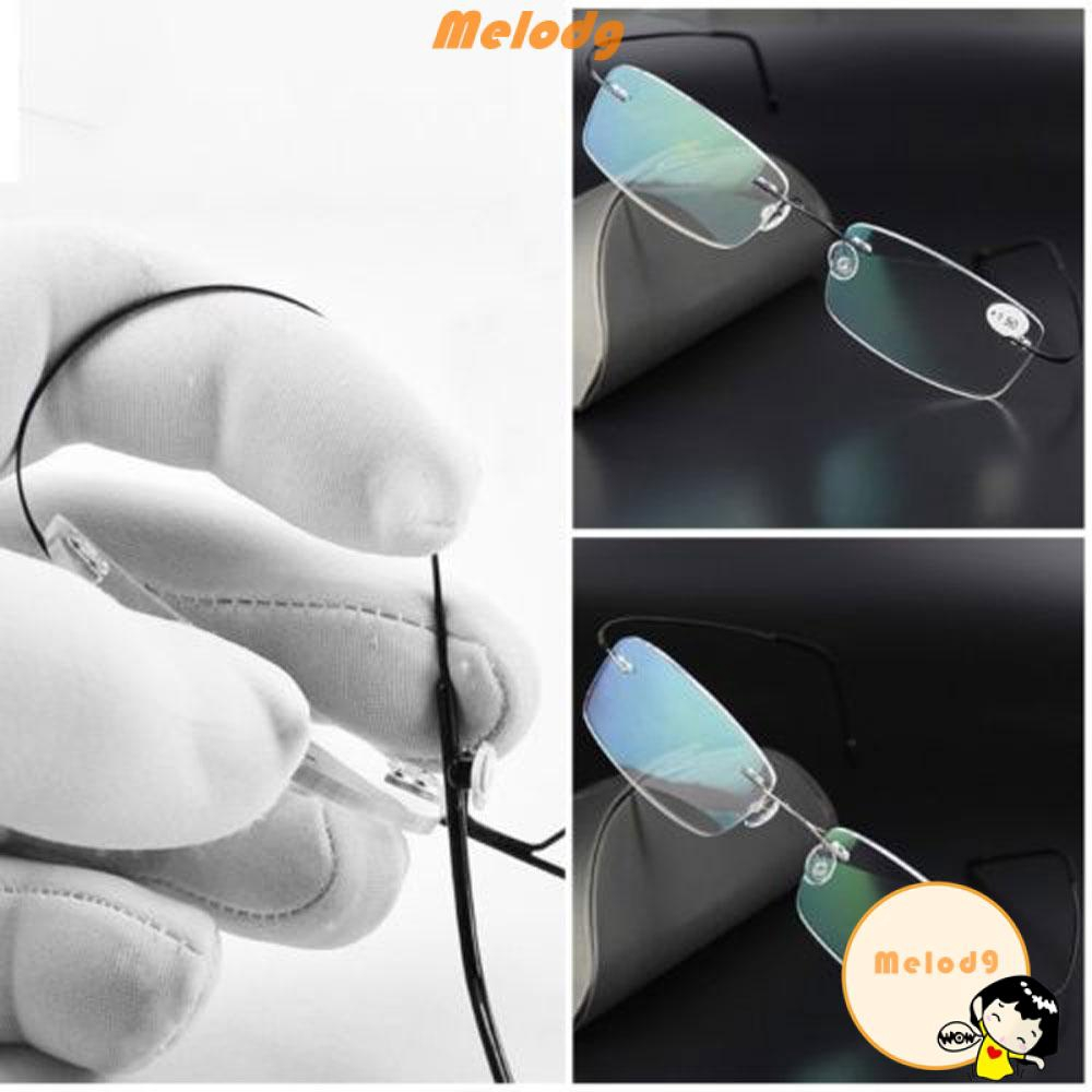 💍MELODG💍 Elder Unisex Ultralight Rectangular Spectacles Reading Glasses