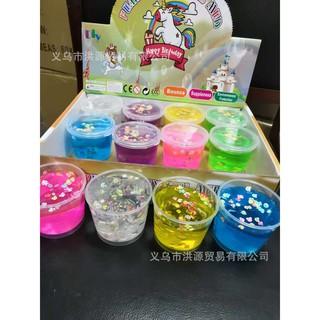 đồ chơi slime hoa quả hộp to – slime mềm dẻo mã DAC30 F[ LẺ=SỈ ]