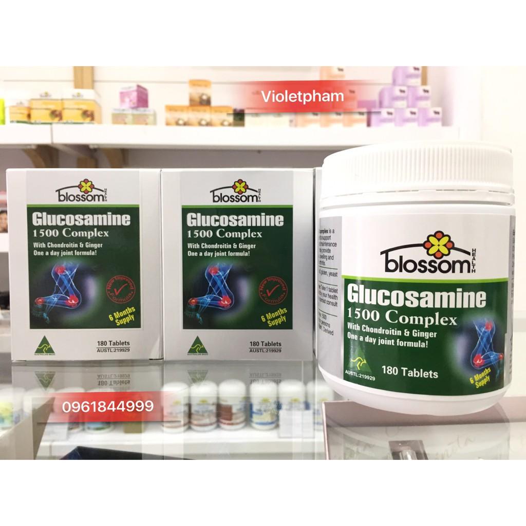 Blossom Glucosamine Complex 1500mg- Viên uống đặc trị các vấn đề đau nhức xương khớp - 2854663 , 279008395 , 322_279008395 , 349000 , Blossom-Glucosamine-Complex-1500mg-Vien-uong-dac-tri-cac-van-de-dau-nhuc-xuong-khop-322_279008395 , shopee.vn , Blossom Glucosamine Complex 1500mg- Viên uống đặc trị các vấn đề đau nhức xương khớp