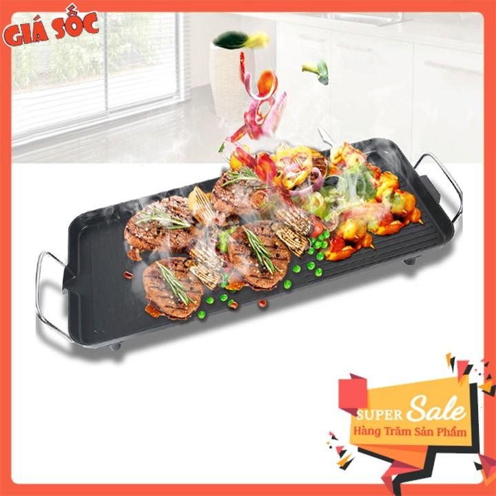 Bếp nướng BBQ điện 40*23cm ( núm xoay điều chỉnh nhiệt độ )