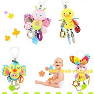 ➤♕❀❤Kid Baby Crib Pram Hanging Rattles Toy