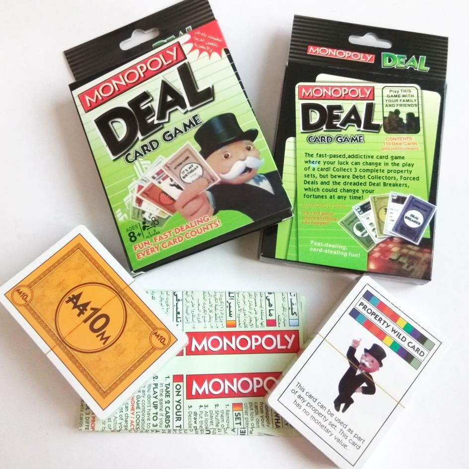 Board Game Bài Monopoly Deal Pack – Phiên Bản Thu Nhỏ Của Cờ Tỷ Phú