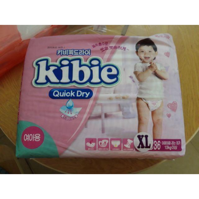 ( xả kho ) tã dán kibie XL36 cho bé