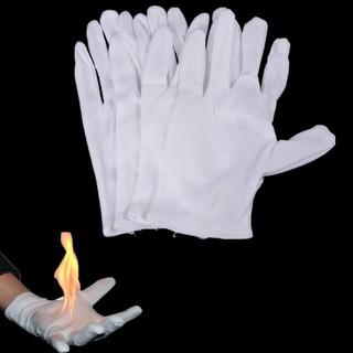 2 Pairs Magic Fire Gloves Bring Fire from Glove Palm Magic Props Magic Tricks