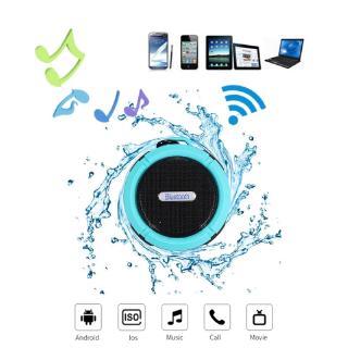 Loa Bluetooth không dây chống nước có giác hút chân không nhỏ gọn tiện dụng