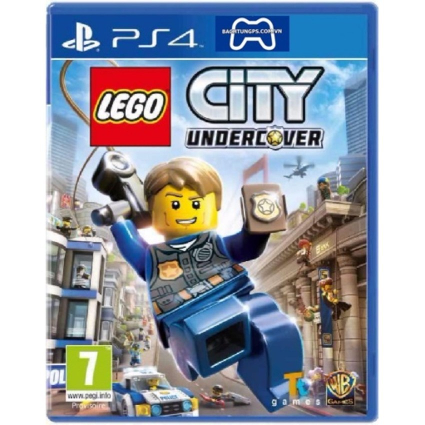 Đĩa game PS4 :Lego City Undercover