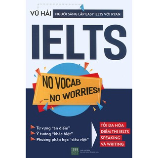 Sách - IELTS No Vocab - No Worries