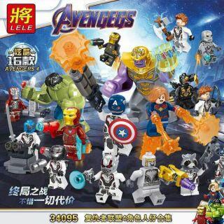 Minifigures Các Nhân Vật Avengegs Siêu Anh Hùng