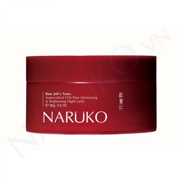 Mặt nạ ngủ ý dĩ Naruko RJT Supercritical CO2 Pore Minimizing and Brightening Night Gelly