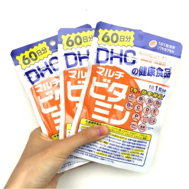 (Sẵn) Viên uống bổ sung đa Vitamin Multi DHC Nhật Bản 60 ngày - 9983758 , 546473866 , 322_546473866 , 80000 , San-Vien-uong-bo-sung-da-Vitamin-Multi-DHC-Nhat-Ban-60-ngay-322_546473866 , shopee.vn , (Sẵn) Viên uống bổ sung đa Vitamin Multi DHC Nhật Bản 60 ngày