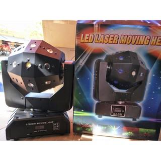 Đèn moving 16 mắt laser katy 3in1