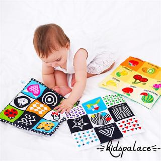 ➤♕❀❤Soft Cloth Book Baby Kids Children Early Educational Cartoon Book Toy Number