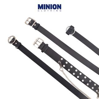 Thắt lưng Minion Clothing Ulzzang nhiều loại, phong cách Unisex Streetwear